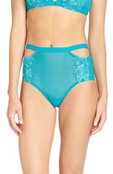 Honeydew Intimates Women's 'Erica' Cutout Hipster Briefs Stained Glass