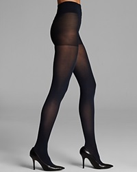 Dkny Tights Opaque Coverage Control Top 412Nb Royal Navy