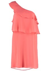 Naf Naf Cocktail Dress Party Dress Sorbet Coral