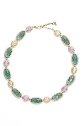 Jenny Packham Women's Crystal Collar Necklace