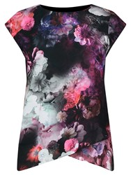 Oasis Winter Floral T Shirt Multi