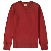 Nudie Jeans Sven Crew Sweat Red