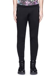 Dsquared Wool Blend Bonded Jogging Pants Black