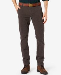Dockers Men's Alpha Slim Fit Stretch Twill Pants Brown Touch Finish