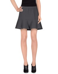 Scee By Twin Set Skirts Mini Skirts Women Steel Grey