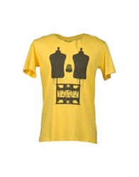 Short Sleeve T Shirts Yellow
