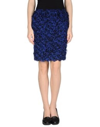 Steffen Schraut Knee Length Skirts Blue
