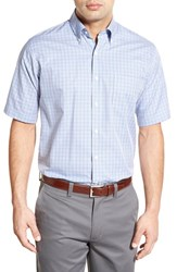 Men's Peter Millar 'Pinwheel Tattersall' Regular Fit Sport Shirt Mirage