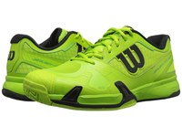 Wilson Rush Pro 2.0 Green Black Men's Tennis Shoes
