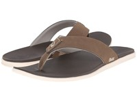 Olukai Holona Mustang Dark Java Men's Sandals Brown