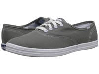 Keds Champion Canvas Cvo Graphite Women's Lace Up Casual Shoes Gray