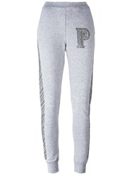 Philipp Plein 'Concrete' Track Pants Grey
