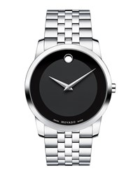 40Mm Museum Classic Watch Silver Black Movado