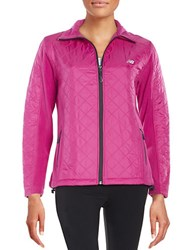 New Balance Quilted Jacket Poison Berry
