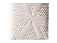 Marni Flower Embossed Leather Bifold White
