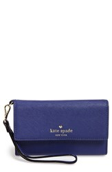Kate Spade New York 'Cedar Street' Iphone 6 Leather Wristlet Purple Disco Purple