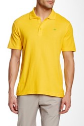 English Laundry Pique Polo Yellow