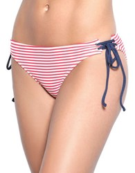 Betsey Johnson Chili Pepper Bikini Bottom Red