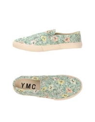Ymc You Must Create Low Tops And Trainers Light Green