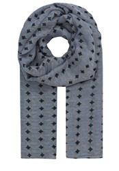 Hallhuber Woven Goods Scarf With Graphic Print