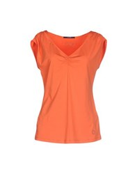 Laurel Topwear T Shirts Women Orange