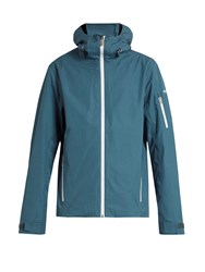 Mover Wool Lined Hooded Ski Jacket Blue