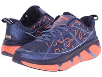 Hoka One One Infinite Coastal Fjord Neon Coral Women's Running Shoes Blue