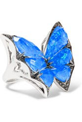 Stephen Webster Fly By Night 1 Karat White Gold