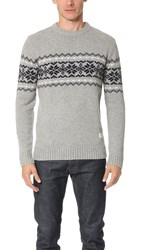 Penfield Hickman Crew Sweater Grey