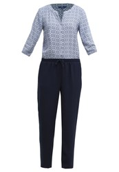 Tom Tailor Jumpsuit Real Navy Blue