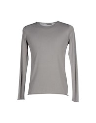 Authentic Original Vintage Style Knitwear Jumpers Men Light Grey