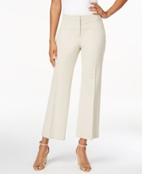 Charter Club Wide Leg Cropped Pants Only At Macy's Sand