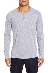 Velvet By Graham And Spencer Men's Haddon Raglan Sleeve Henley