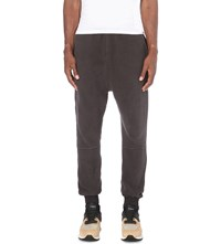 Blood Brother Ore Cotton Jersey Jogging Bottoms Grey