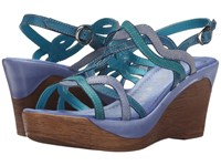 David Tate Alto Blue Women's Sandals