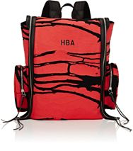 Hood By Air Oversized Flap Backpack Red