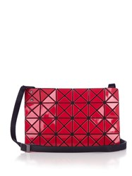 Issey Miyake Lucent Gloss Cross Body Bag Red