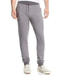 American Rag Men's Big And Tall Marled Jogger Pants Only At Macy's Pewter Heather
