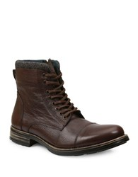 Gbx Tosh Tumbled Leather Boots Brown