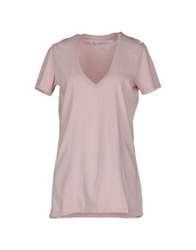 Department 5 Short Sleeve T Shirts Coral