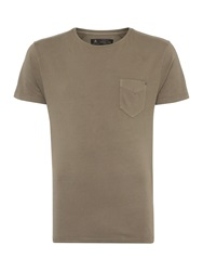 Label Lab Jubilee Pocket T With Studd Khaki