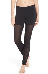 Alo Yoga Women's Alo 'Goddess' Ruched Mesh Leggings
