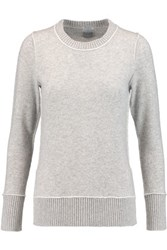 Madeleine Thompson Hampton Cashmere Sweater Gray