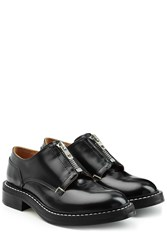 Rag And Bone Leather Shoes With Zippers Black