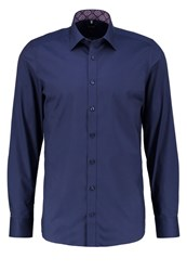 Olymp Level 5 Body Fit Shirt Indigo Blue