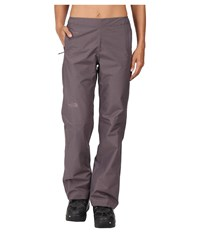 The North Face Venture 1 2 Zip Pant Rabbit Grey Heather Women's Casual Pants Gray