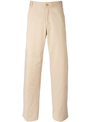 Moschino Vintage Classic Chinos Nude And Neutrals