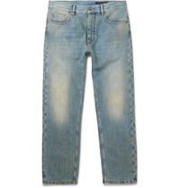 Marc Jacobs Faded Washed Denim Jeans Mid Denim