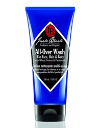All Over Wash For Face Hair And Body 10 Oz. Jack Black