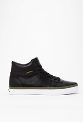 Forever 21 Unnown Marcos High Top Sneaker Black